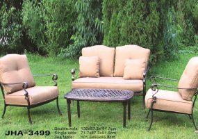 Cast Aluminum Sofa Set, JHA-3499