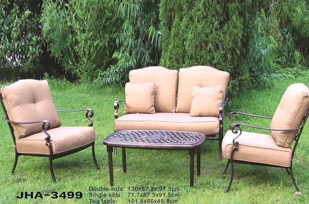 Cast Aluminum Sofa Set