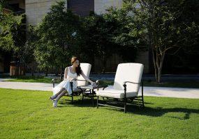 Aluminum Outdoor Lounge Sofa, JHA-6010