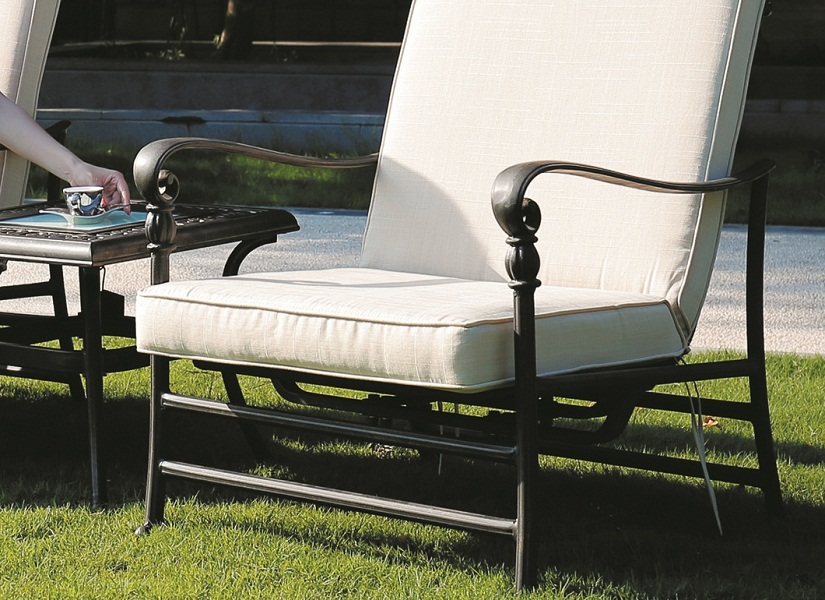 JHA-6010, Designer Cast Aluminum Sofa