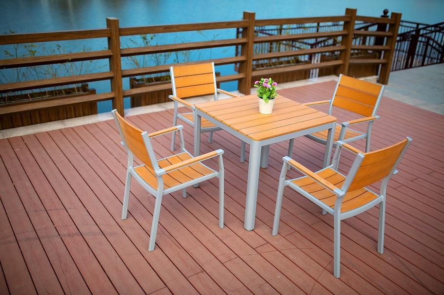 Polywood Square Dining set