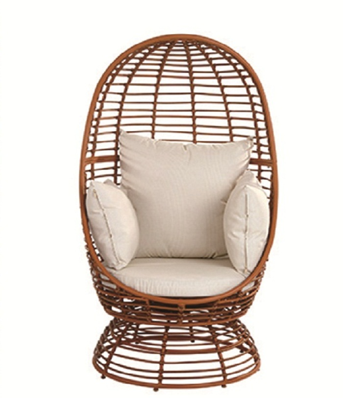 JHA-7113,Brown Designer Chair