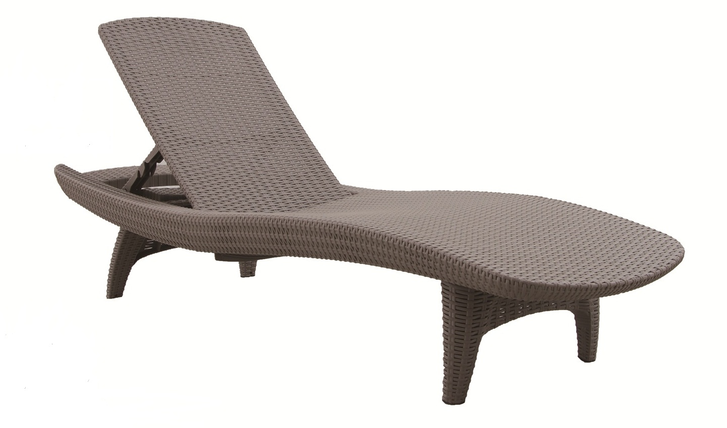 Moulded Rattan design Lounger