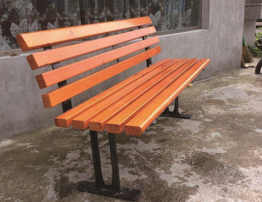 Artificial Wood Bench