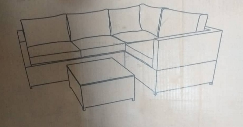 knockdown sofa