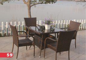 Backyard Dining Set, JHA-0274