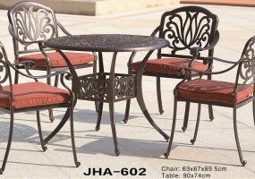 Dining Set Cast Aluminum, JHA-602