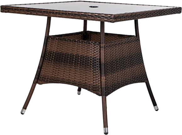 Wicker Synthetic Table