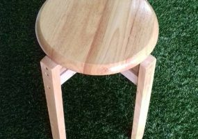 Wooden Stool, SS-01WS