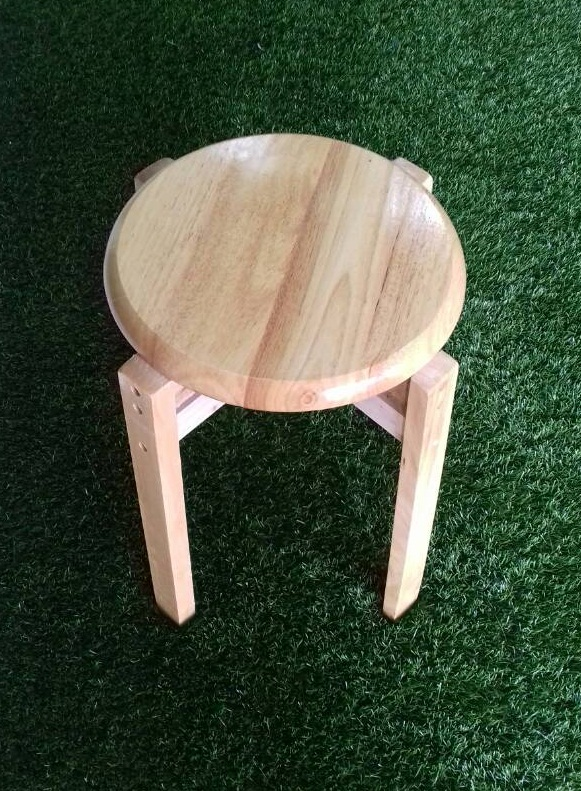 SS 01WS, Wooden Stool