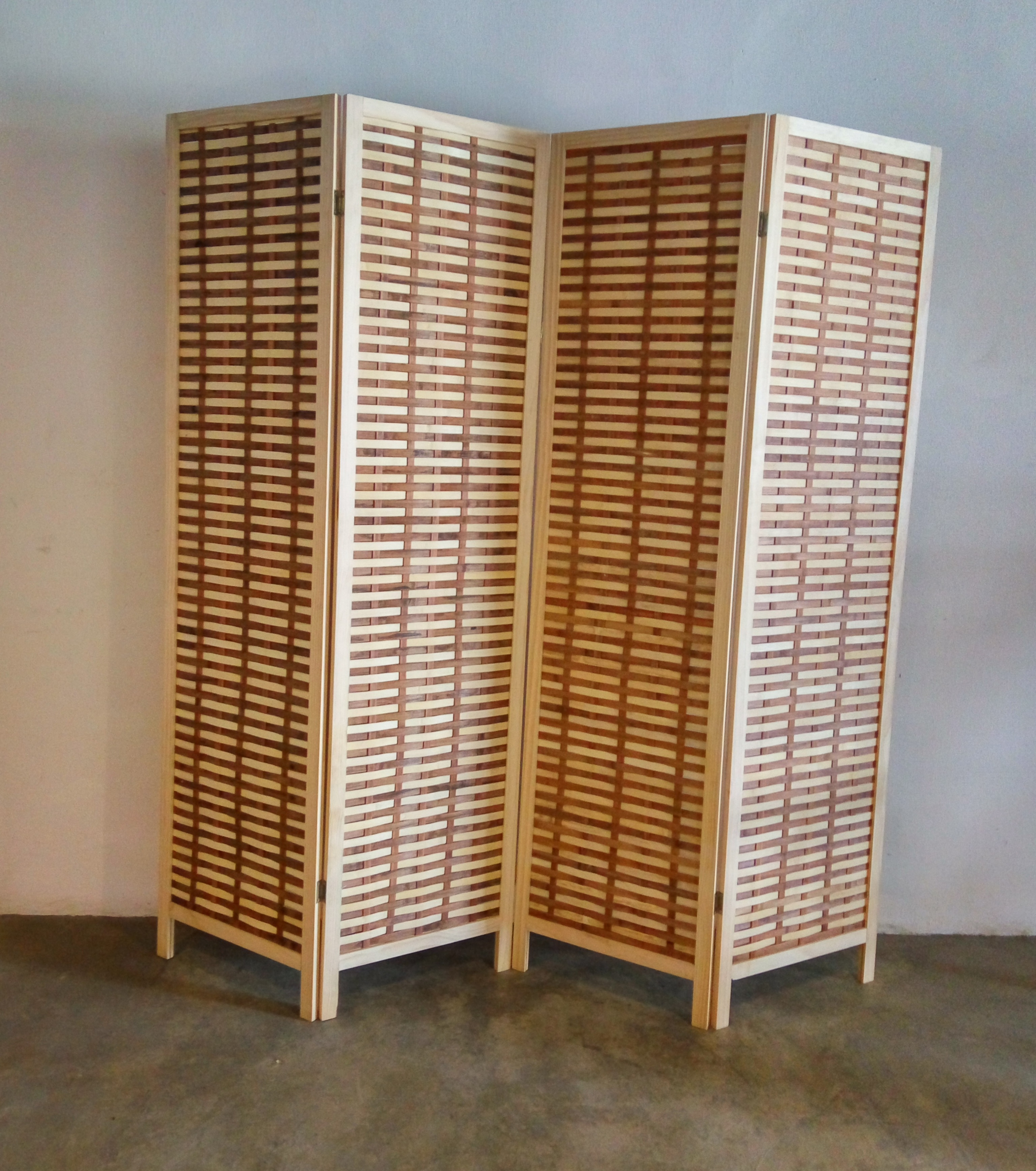 solid wood partition