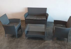 Wicker Balcony Sofa, JHA STOCK