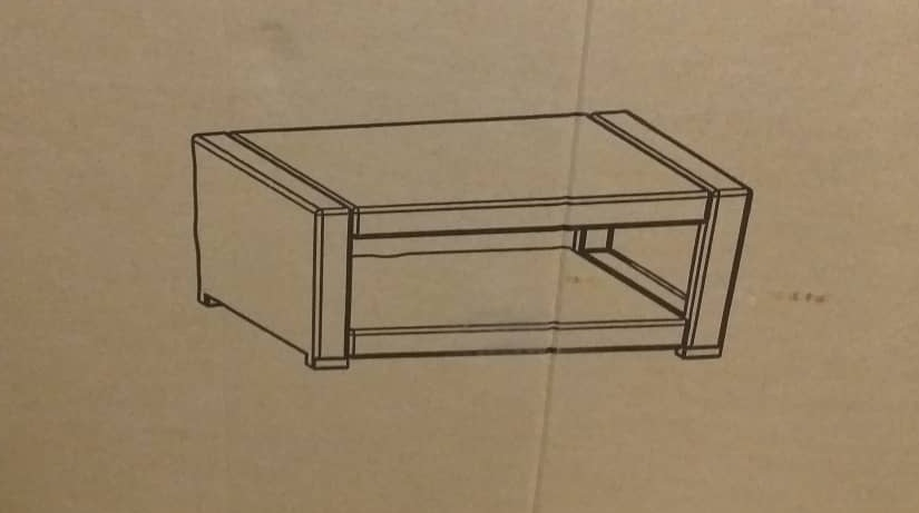molded coffee table