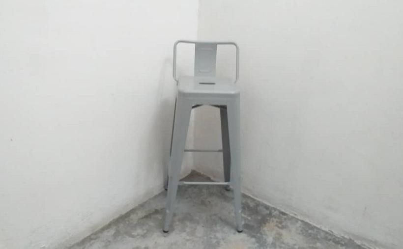 stock metal bar stool