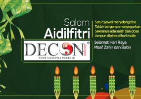 Decon Malaysia, Selamat Hari Raya 2019