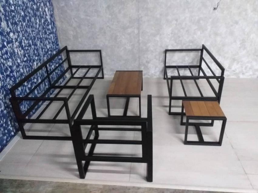Decon metal sofa supplier