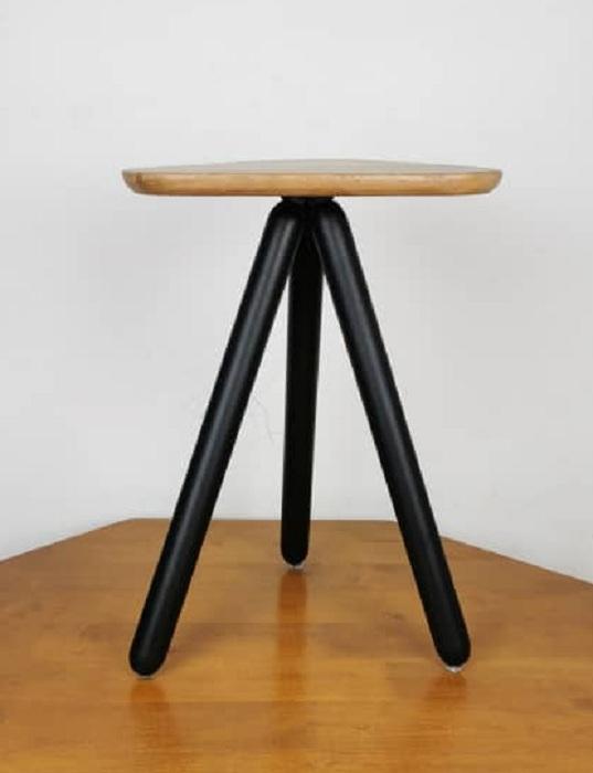 balau triangular stool