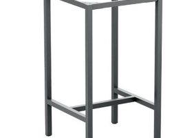 Industrial Metal Table Legs Bar Stool, KTS-23BSL