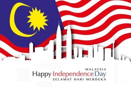 Malaysia's Independence Day (Selamat Hari Merdeka)