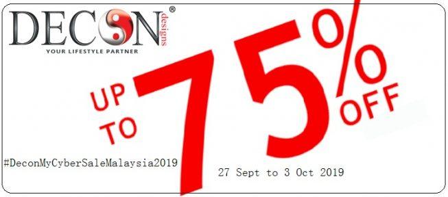Decon My Cyber Sale Malaysia 2019