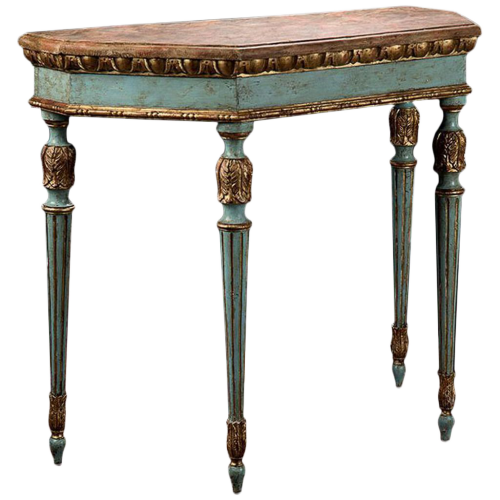 Coralie Classic Design Console Table