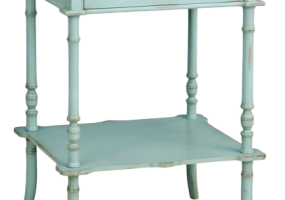 Edouard Turquoise Side Table, JD-612