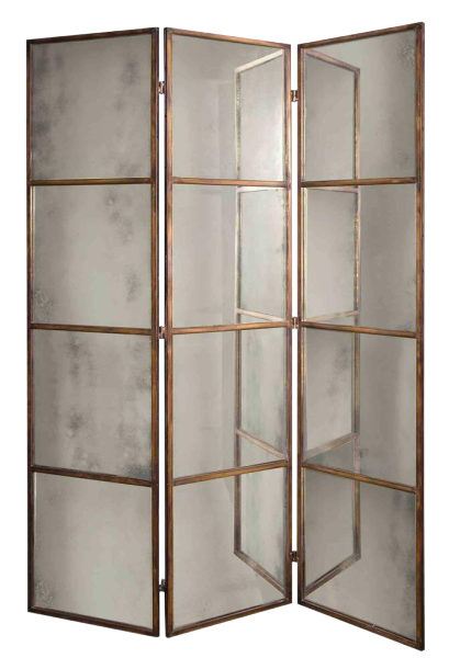 French 3 Panel Divider