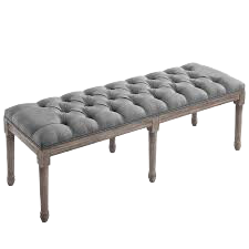 French Long Ottoman , French Furniture