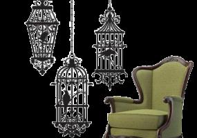 Mughal Empirial Chair, JD-282