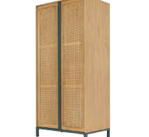 Oceana Tall Cabinet Double, JD-402