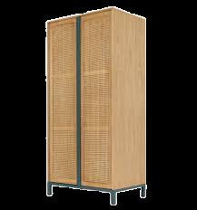 Oceana Tall Cabinet Double