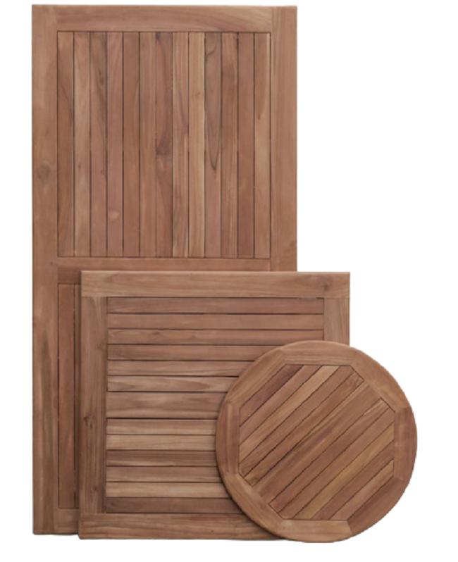 Teak table top, teak wood table top