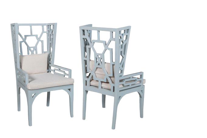 monica french designer chair
