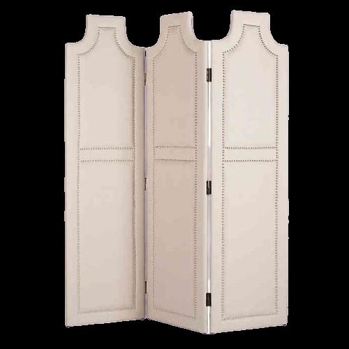 Apolline upholstery Screen, White
