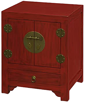 Asian Accent Designer Side Table