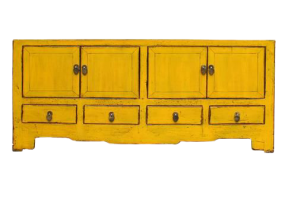 Asian Accents Yellow Sideboard, JD-457