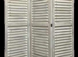 Dabney 3 Panel Room Divider, JD-517