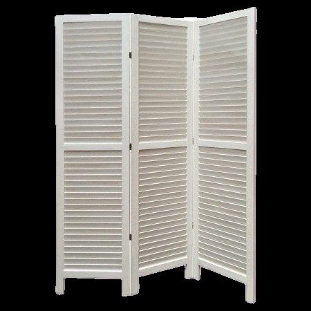 Dabney white color room divider