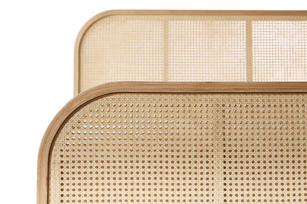 Decane Designer Bed, Sample Material