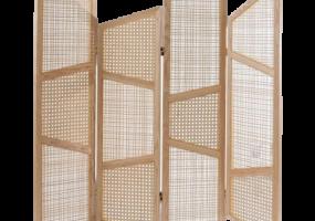 Designer 4 Panels Screen Cane Webbing, JD-336