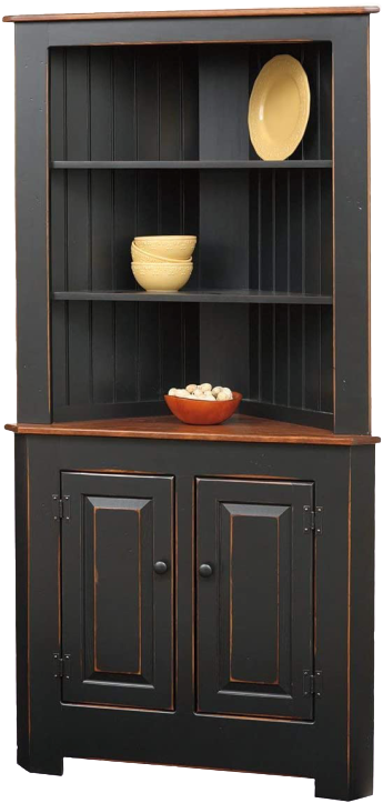 Lalamove French Classic Corner Cabinet