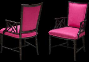 Ming Tan Highback Chair, JD-2010