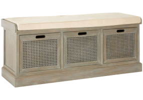 Bench Seat Shoe Cabinet, JD-438