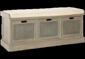 Bench Seat Shoe Cabinet, JD-438