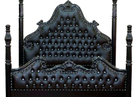 Black Gothic Dungeon Poster Bed, JD-640