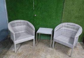 Berjaya Hills Chair & Table, HC-100Set