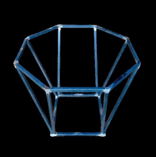 Octagonal Metal Table Leg