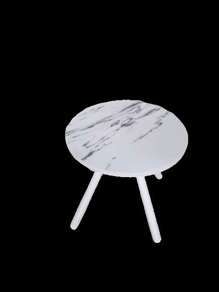 Raqibs Round Table Cartz Stone Top