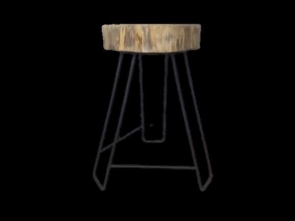 Side table wooden Slab