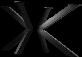 Vee Vee Metal Table Legs, KTS-37L